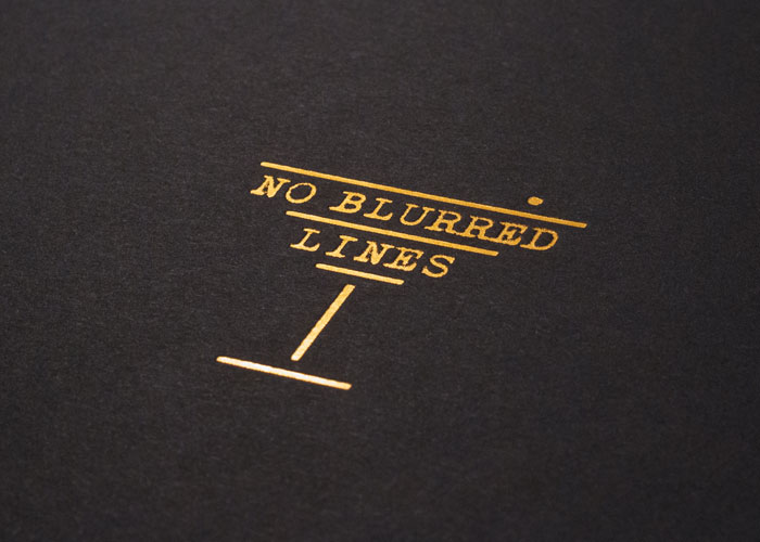 No blurred lines